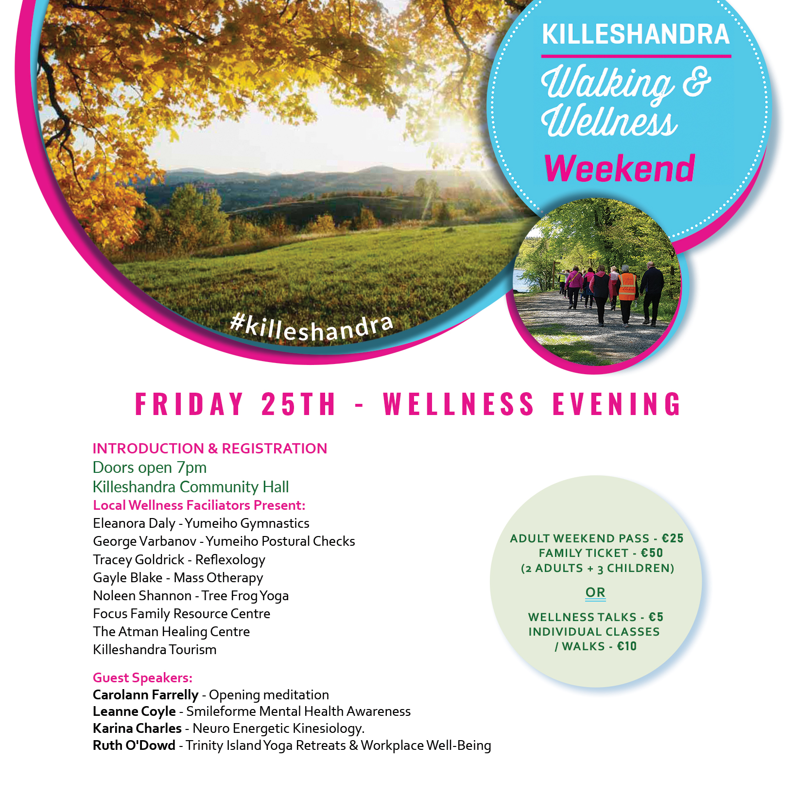 Killeshandra Walking & Wellness Weekend