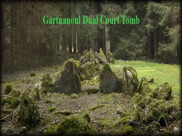 Gartnanoul Dual Court Tomb - Megalithic