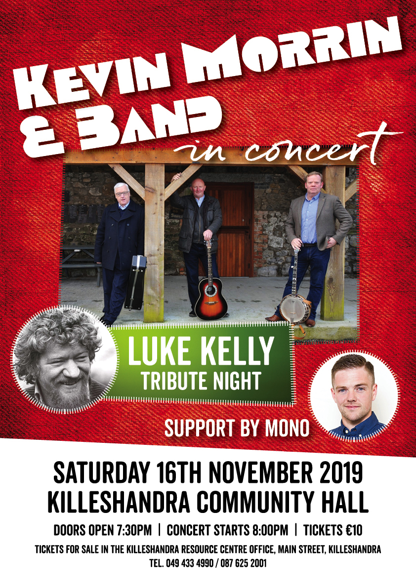 Kevin Morrin Band in Concert