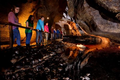 Discover magical moments at the Marble Arch Caves